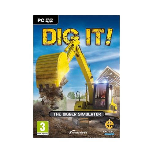 Joc Dig It! The Digger Simulator Pc 0