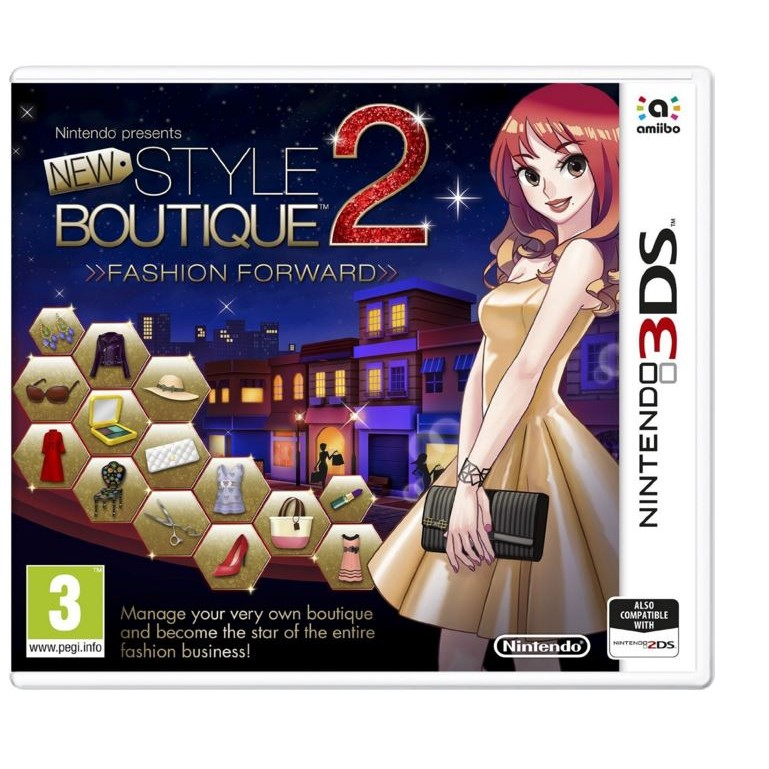 Joc New Style Boutique 2 Fashion Forward pentru Nintendo 3Ds 0