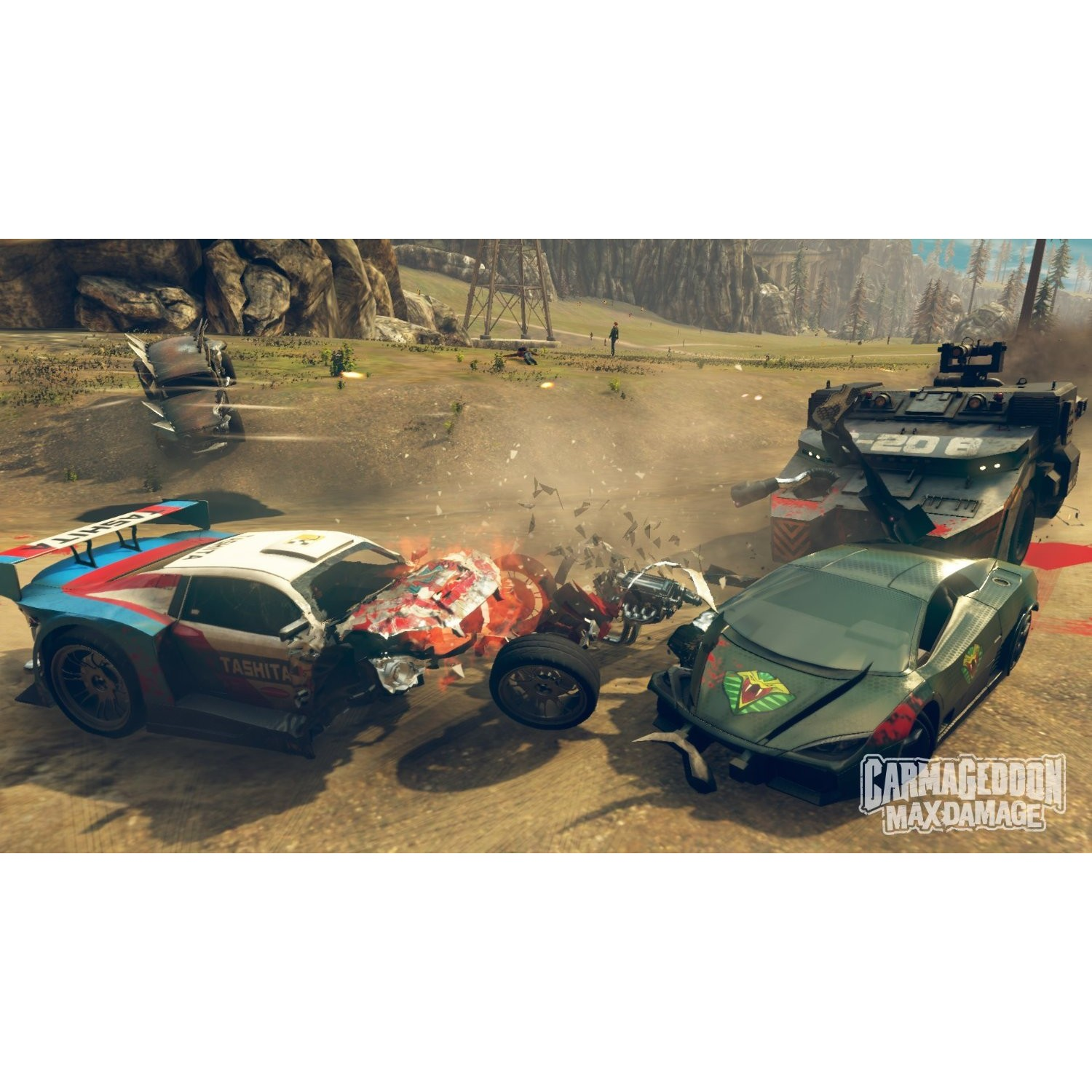 Joc Carmageddon: Max Damage Ps4 2