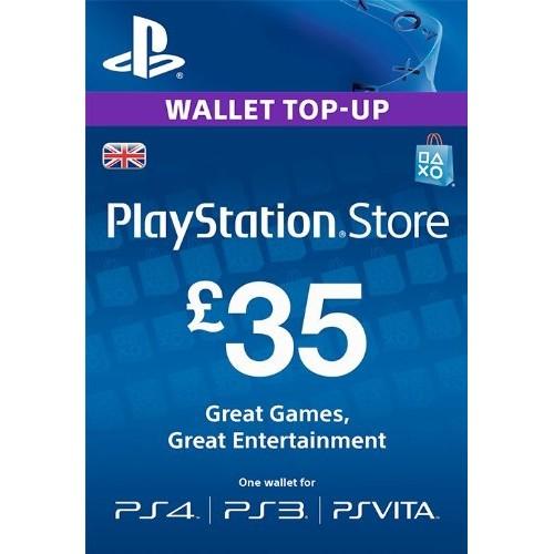 Card Playstation PSN 35 Lire pentru PS4, PS3, Ps Vita 0