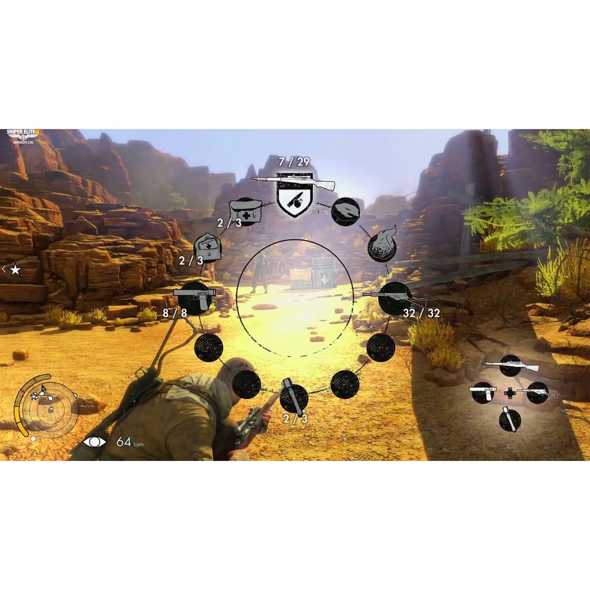 Joc Sniper Elite III Key(COD activare Steam) 1