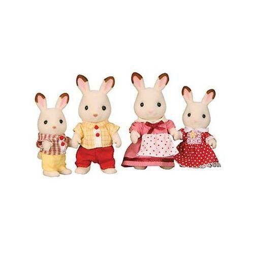 Jucarie Sylvanian Families Chocolate Rabbit Family 0