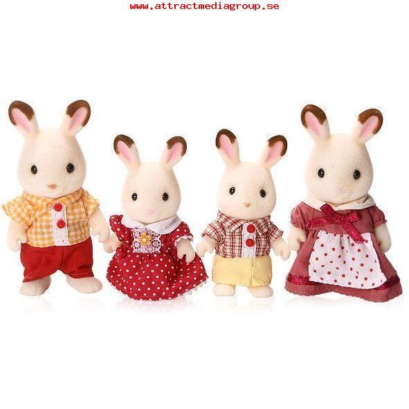 Jucarie Sylvanian Families Chocolate Rabbit Family 1