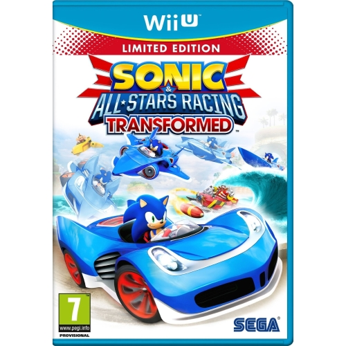 Joc Sonic & All-Stars Racing: Transformed pentru Wii U 0