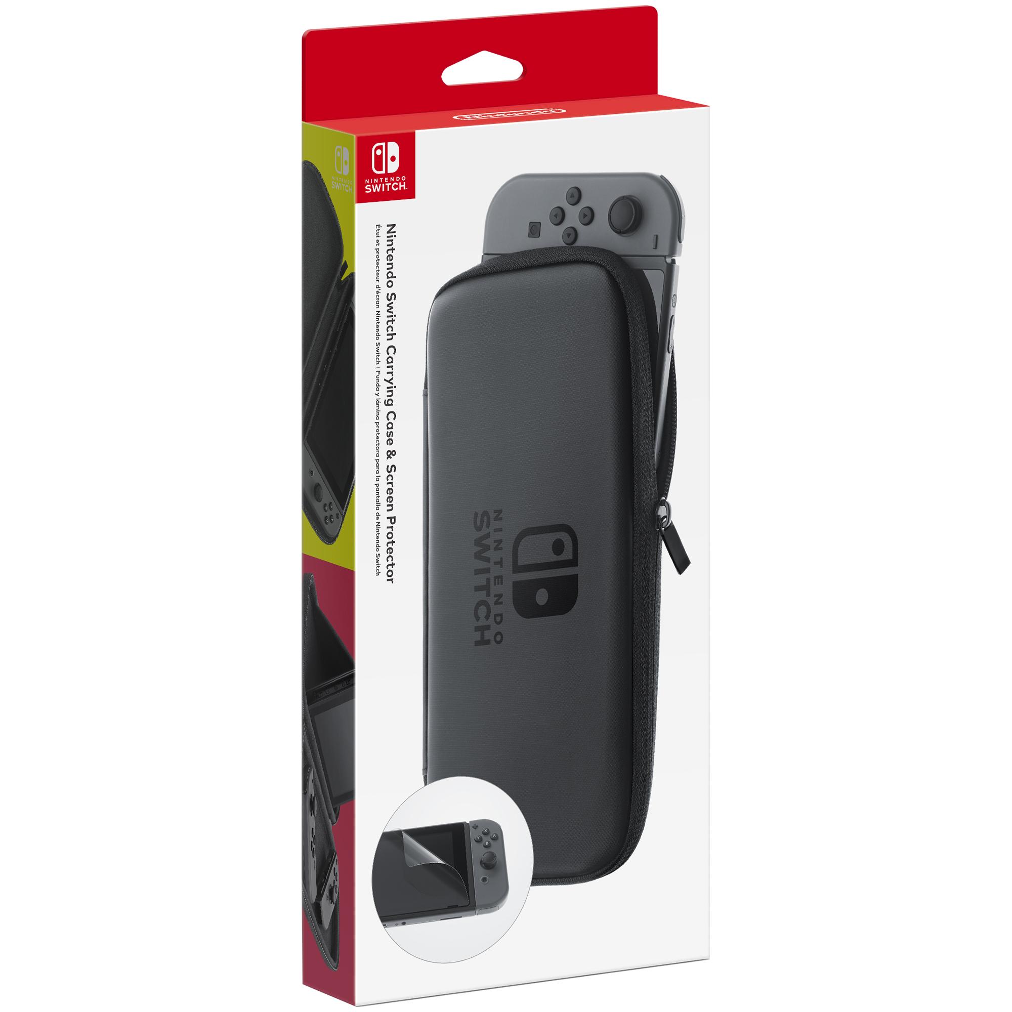 Carrying Case si ecran de protectie pentru Nintendo Switch 0