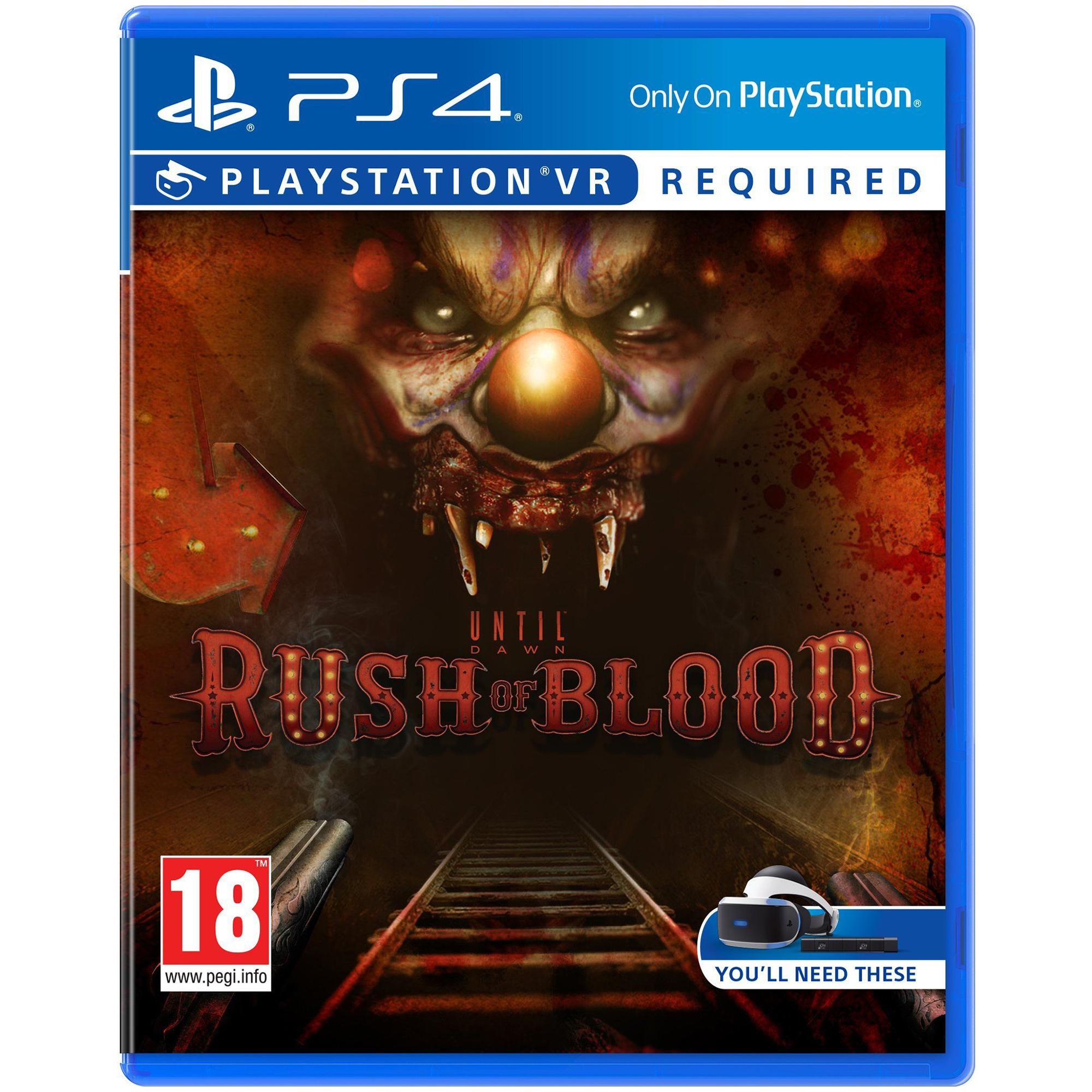 Joc Until Dawn: Rush of Blood VR pentru Sony Playstation 4 0