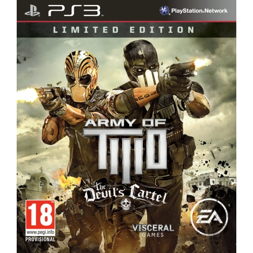 Joc Army of Two The Devil's Cartel - Limited Edition pentru PlayStation 3 0