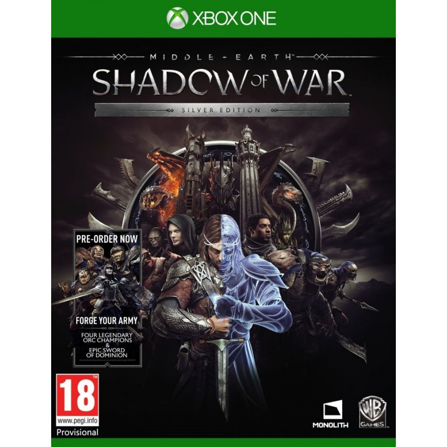 Joc Middle Earth Shadow Of War Silver Edition pentru Xbox One 0