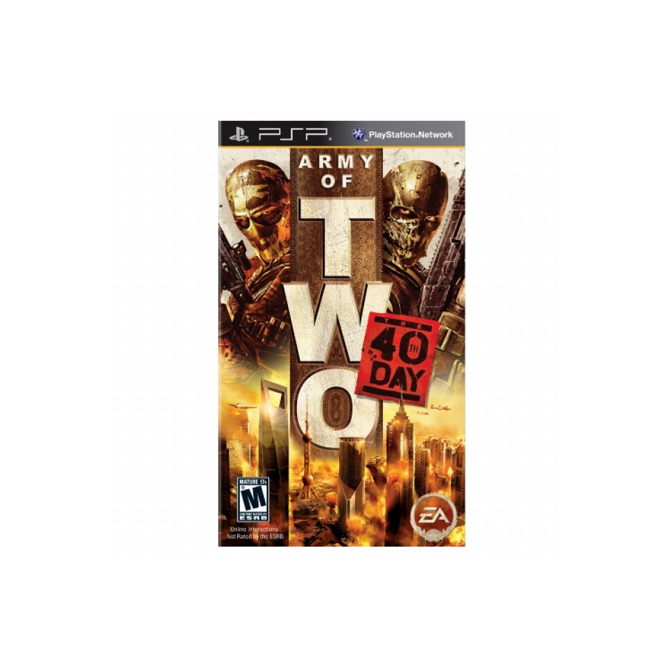 Army of Two: The 40th Day (BBFC) /PSP 0