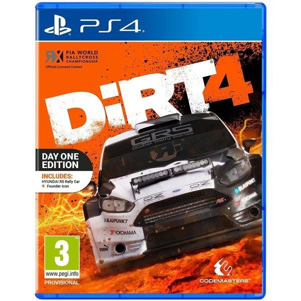 Joc DiRT 4 Day One Edition PS4 + (bonus Hyundai R5 + Special Event + Founder Icon) 0