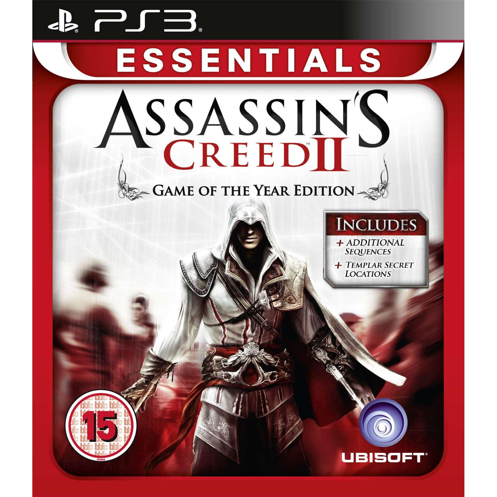 Joc Assassin's Creed 2 - Game of the Year Essentials pentru PlayStation 3 0