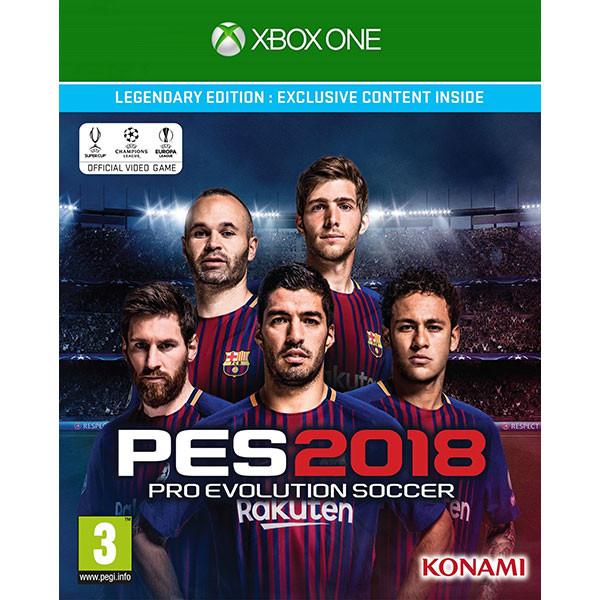 Joc Pro Evolution Soccer 2018 Legendary Edition pentru Xbox One 0