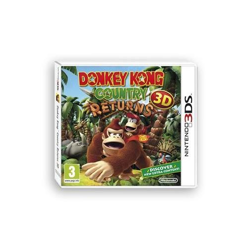 Donkey Kong Country Returns 3D Nintendo 3Ds 0