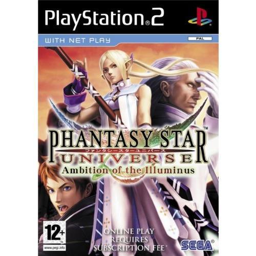 Joc Phantasy Star Universe Ambition Of The Illuminus Ps2 0