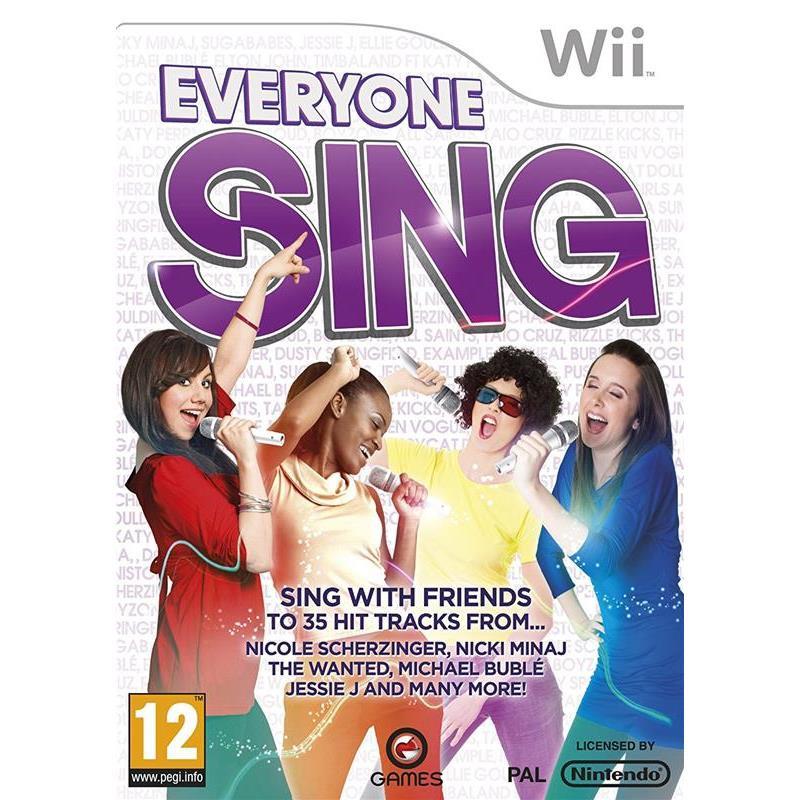 Joc Everyone Sing Nintendo Wii 0