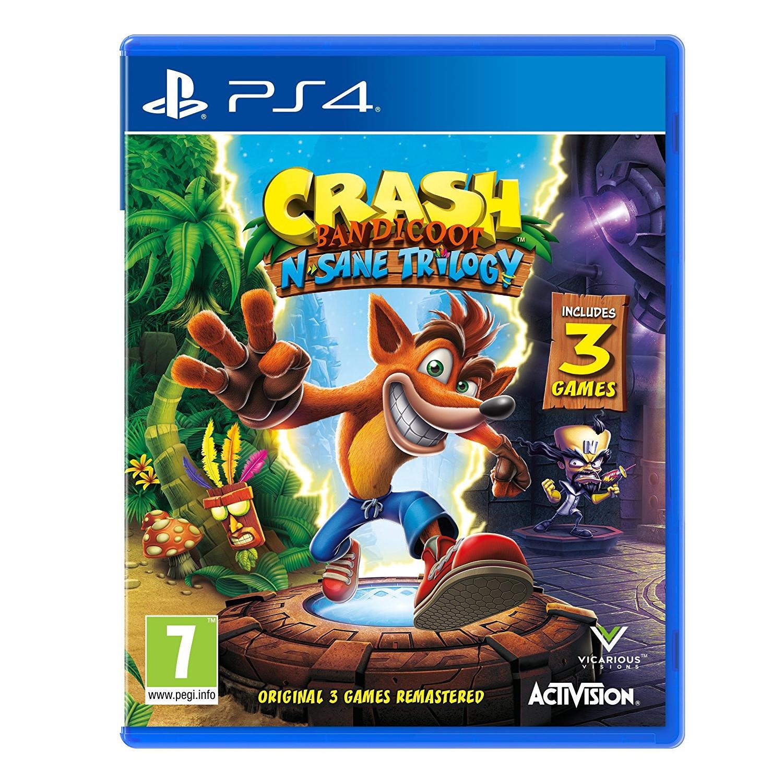 Joc Crash Bandicoot N. Sane Trilogy pentru PS4 0