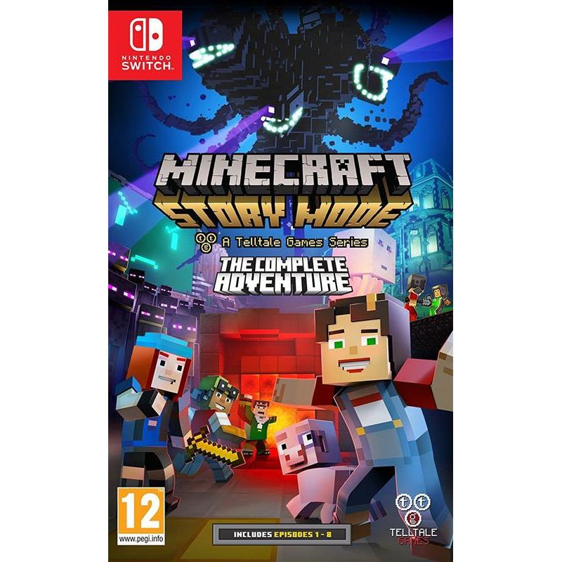 Minecraft Story Mode Complete Edition Nintendo Switch 0