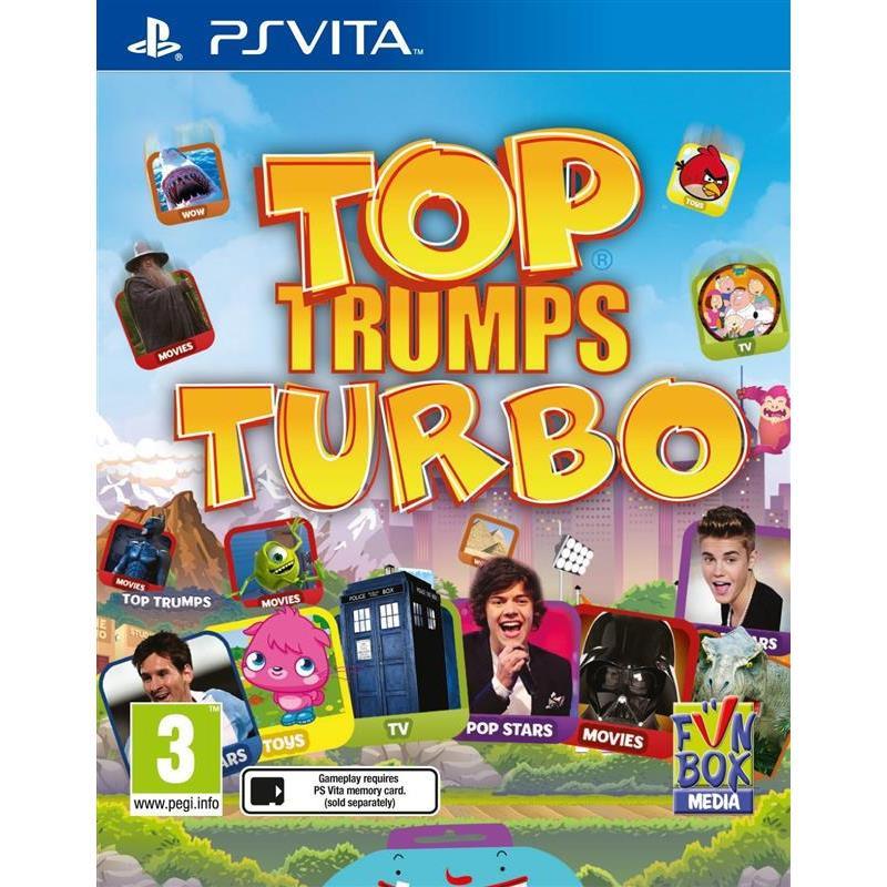 Top Trumps Turbo Ps Vita 0