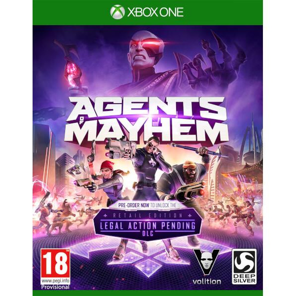 Joc Agents Of Mayhem Xbox One 0