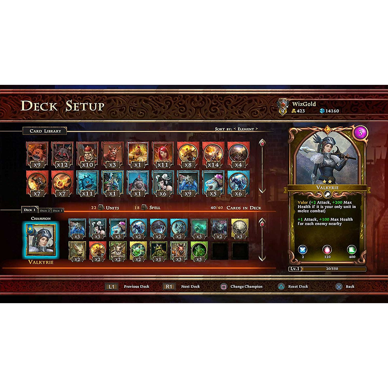Joc Armagallant Decks Of Destiny Ps4 2