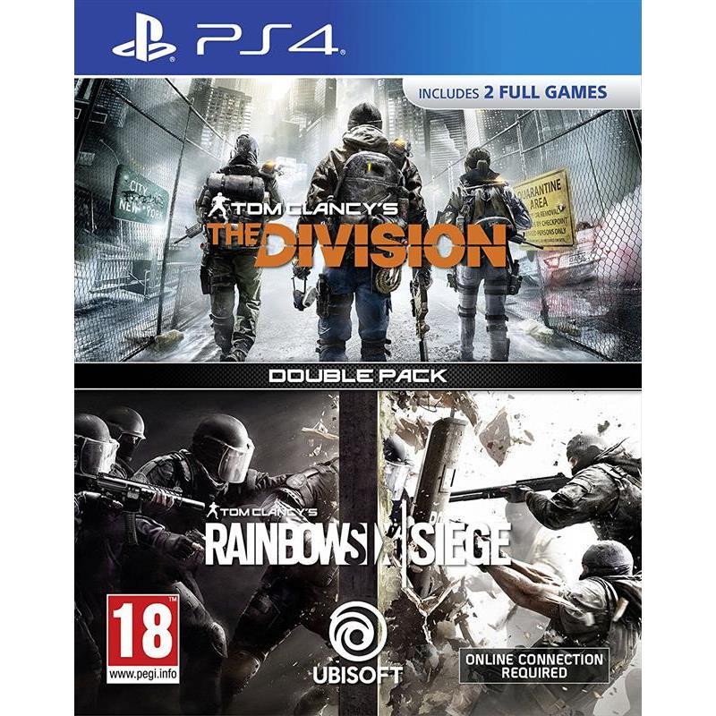 Joc Compilation Rainbow Six Siege & The Division Ps4 0