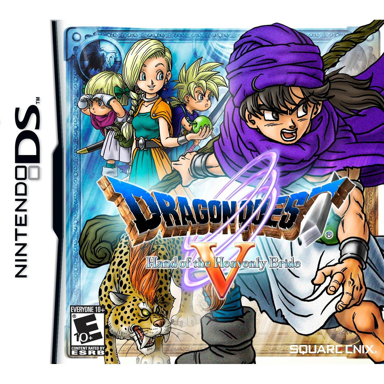 Joc Dragon Quest V Hand Of The Heavenly Bride Nintendo Ds 0
