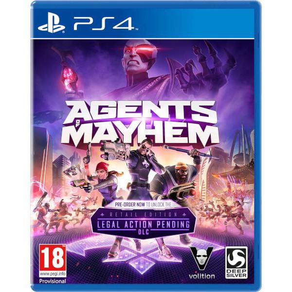 Joc Agents Of Mayhem Ps4 0